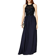 Buy Phase Eight Collection 8 Elwyn Embellished Gown, Navy Online at johnlewis.com