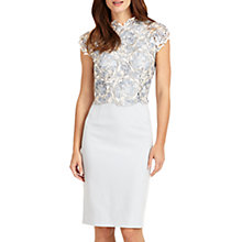 Buy Phase Eight Josephina Lace Dress, Mineral Online at johnlewis.com