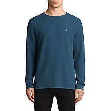 Buy AllSaints Clash Long Sleeve Crew Neck Jumper Online at johnlewis.com