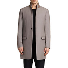 Buy AllSaints Eskoe Coat, Taupe Brown Online at johnlewis.com