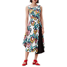 Buy Finery Berkley Floral Vines Dress, Multi Online at johnlewis.com
