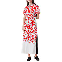 Buy Finery Catel Dot To Dot Cactus Dress, Red Online at johnlewis.com