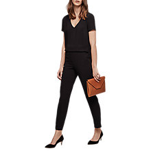 Buy Gerard Darel Daria Jumpsuit, Black Online at johnlewis.com