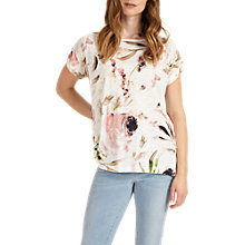 Buy Phase Eight May Pearl Floral Print Top, Multi Online at johnlewis.com