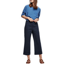 Buy Gerard Darel Phoenix Trousers, Navy Blue Online at johnlewis.com