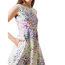 Buy Hobbs Nova Confetti Print Dress, Ivory/Multi Online at johnlewis.com