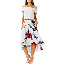 Buy Coast Fionn Floral Print Skirt, Multi Online at johnlewis.com