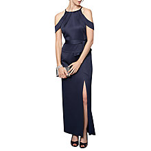 Buy Phase Eight Amail Maxi Dress, Navy Online at johnlewis.com