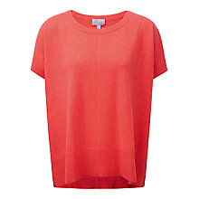 Buy Pure Collection Relaxed Cashmere T-Shirt Online at johnlewis.com