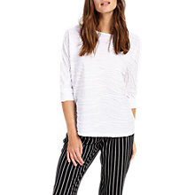 Buy Phase Eight Winnie Wave Top, White Online at johnlewis.com
