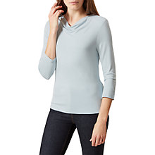 Buy Hobbs Connie Top, Ice Blue Online at johnlewis.com