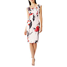Buy Coast Katsura Floral Print Shift Dress, Multi Online at johnlewis.com