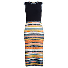 Buy Hobbs Leonie Dress, Navy/Multi Online at johnlewis.com