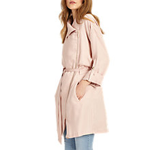 Buy Phase Eight Pam Drapey Mac, Soft Pink Online at johnlewis.com