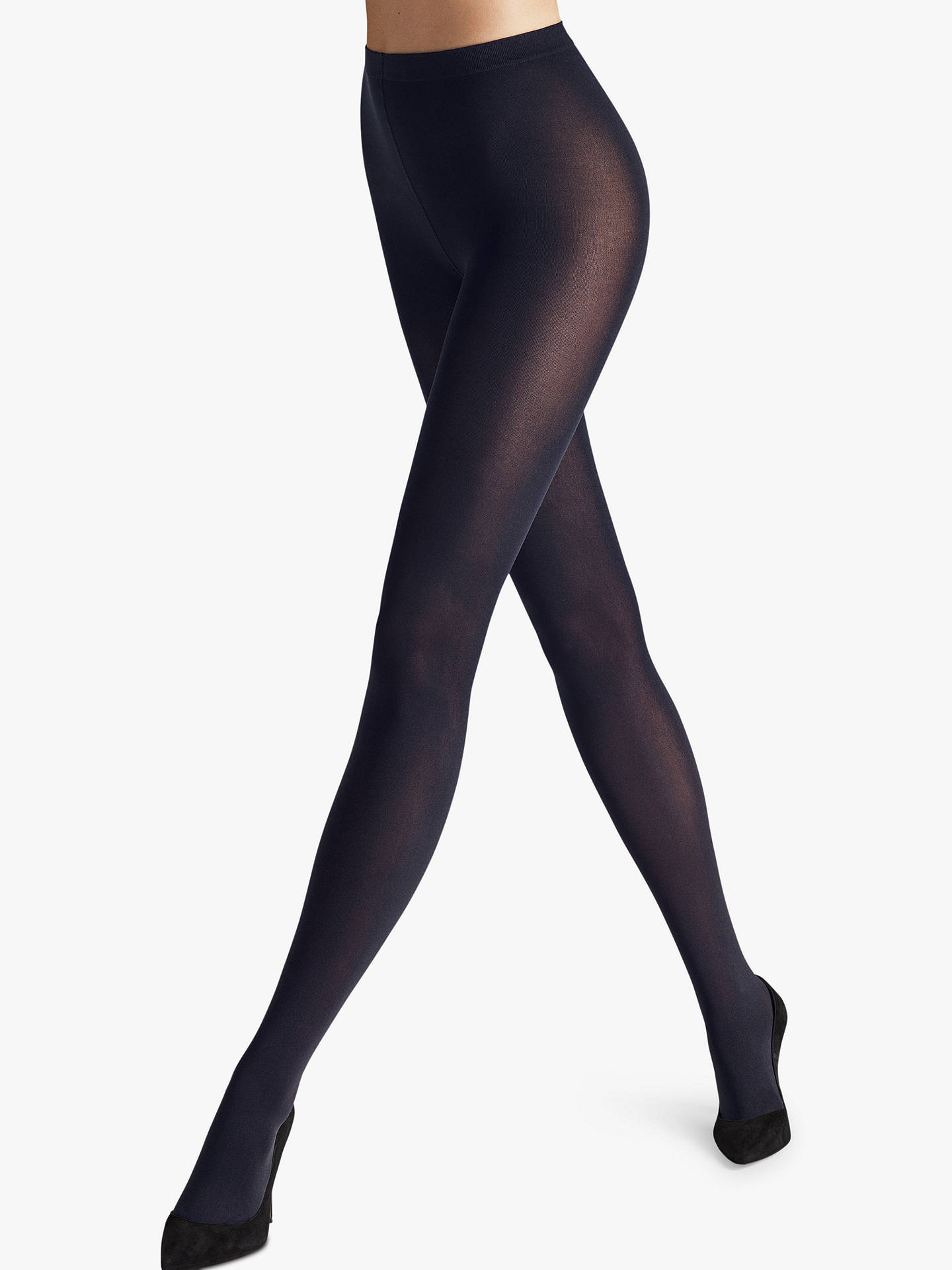 1744c41e9 Wolford Velvet de Luxe 66 Opaque Tights at John Lewis   Partners