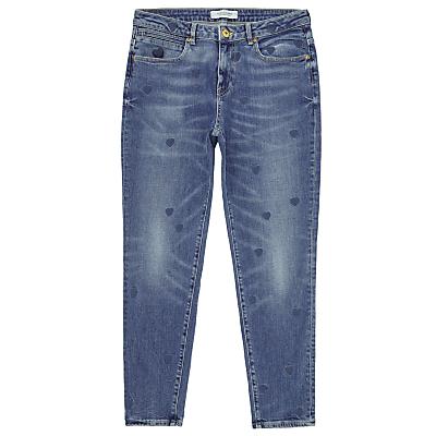 Maison Scotch Petit Ami Slim Boyfriend Jeans, Indigo Heart
