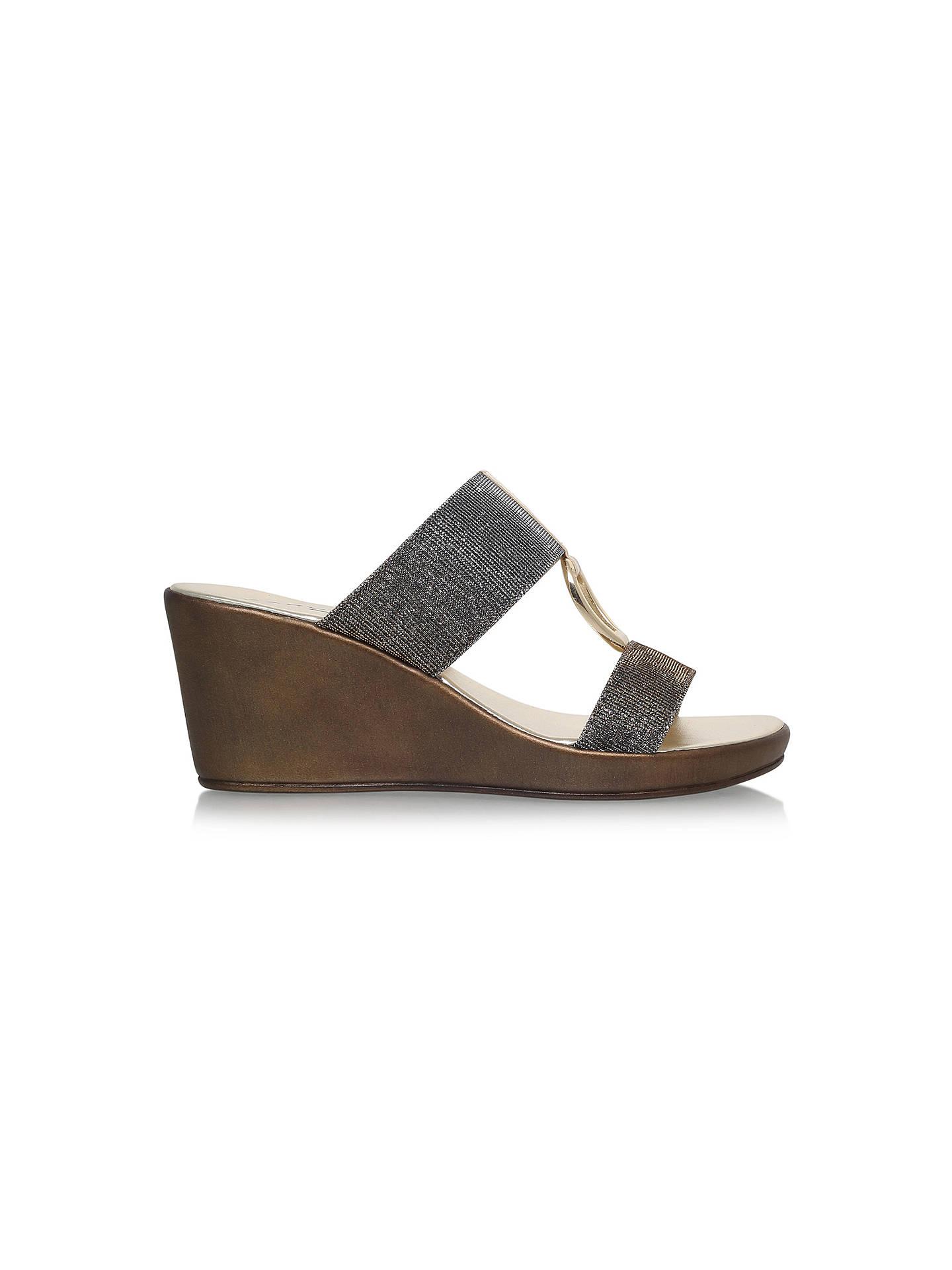 04c21d1963237 Buy Carvela Comfort Salt Wedge Heel Sandals, Metal Comb, 3 Online at  johnlewis.