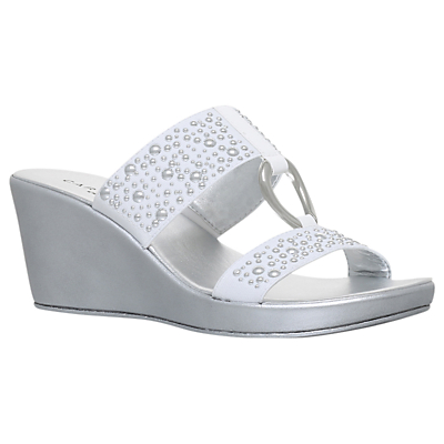 Carvela Comfort Salt Wedge Heel Sandals