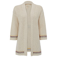 Buy White Stuff Entwined Cardigan, Natural Online at johnlewis.com