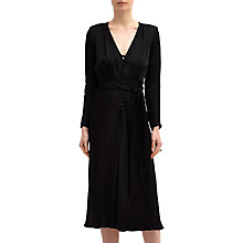 Buy Ghost Meryl Dress, Black Online at johnlewis.com