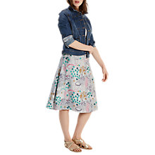 Buy White Stuff Meadow Reversible Skirt, Dark Artist Green Online at johnlewis.com