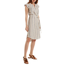 Buy White Stuff Latitude Stripe Dress, Material Cream Stripe Online at johnlewis.com