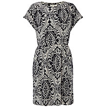 Buy White Stuff Ikat Dress, Black/Multi Online at johnlewis.com