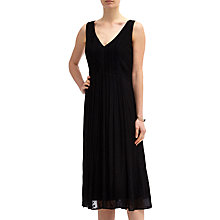 Buy Ghost Poppy Dress, Black Online at johnlewis.com