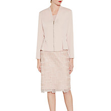 Buy Gina Bacconi Moss Crepe Zip Jacket Online at johnlewis.com