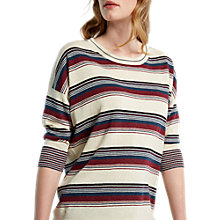 Buy White Stuff Mosaic Stripe Jumper, Multi Online at johnlewis.com