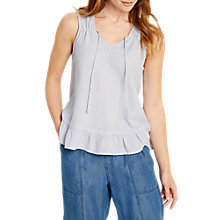 Buy White Stuff Mumbai Cotton Vest, Opal Blue Online at johnlewis.com