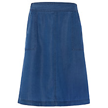 Buy White Stuff Peppercorn Skirt, Blue Online at johnlewis.com
