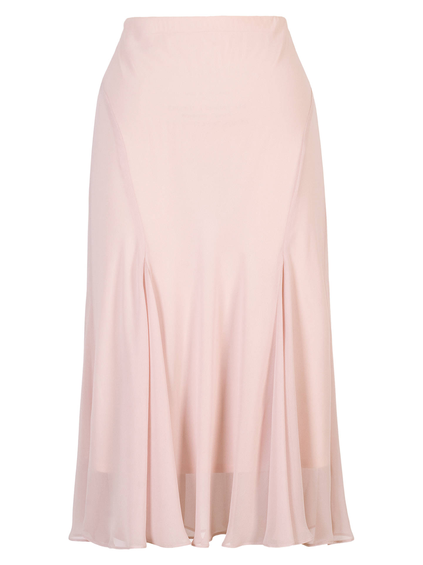 BuyChesca Chiffon Skirt, Dark Blush, 12 Online at johnlewis.com