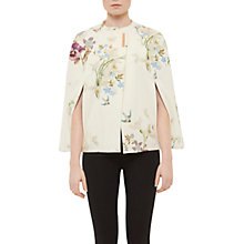 Buy Ted Baker Spring Meadow Cape, Ivory Online at johnlewis.com