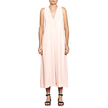 Buy French Connection Essien Crepe V Neck Jumpsuit, Pink Opal Online at johnlewis.com