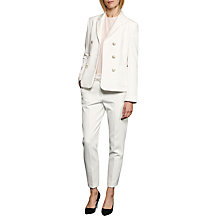 Buy French Connection Sundae Suiting Trousers, Summer White Online at johnlewis.com