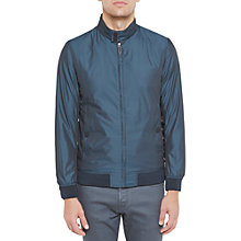Buy Ted Baker Activ Bomer Jacket, Teal Online at johnlewis.com