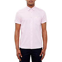 Buy Ted Baker Famgogo Shirt, Pink Online at johnlewis.com