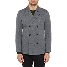 Buy Ted Baker Bonde Jersey Peacoat, Charcoal Online at johnlewis.com