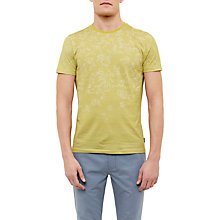 Buy Ted Baker Kayjay Floral T-Shirt, Lime Online at johnlewis.com