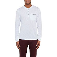 Buy Ted Baker Klarke Cotton Henley T-Shirt Online at johnlewis.com