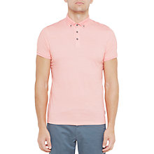 Buy Ted Baker Fliyte Rectangle Geo Print Cotton Polo Shirt Online at johnlewis.com