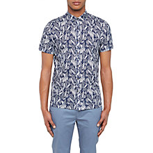 Buy Ted Baker Loyaal Leaf Pattern Shirt Online at johnlewis.com