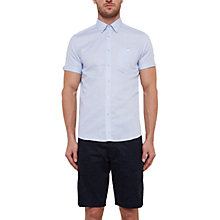 Buy Ted Baker Palpin Cotton-Linen Blend Shirt Online at johnlewis.com