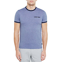 Buy Ted Baker Richie Crew Neck Cotton T-Shirt Online at johnlewis.com