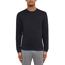 Buy Ted Baker Rover Crew Neck Sweatshirt, Navy Online at johnlewis.com
