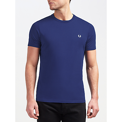 Fred Perry Plain Crew Neck T-Shirt