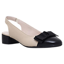 Buy Carvela Comfort Alayna Slingback Court Shoes Online at johnlewis.com