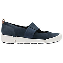 Buy Clarks Tri Ava Sports Pumps, Navy Online at johnlewis.com