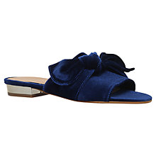 Buy Carvela Krab Mule Sandals, Blue Online at johnlewis.com